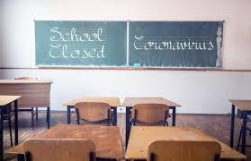 School closed due to Coronavirus Lock down