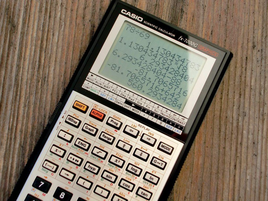 Quantitative Reasoning Calculator Example